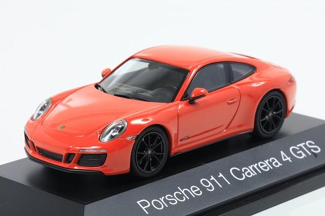 [herpa] 1/43 Porsche 911 Carrera 4 GTS (Orange)
