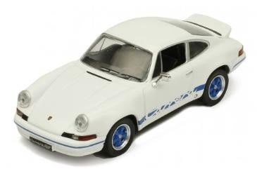 ixo 1/43 Porsche 911 Carrera RS 2.7 1973 White/Blue line