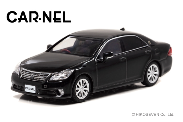 <予約 2021/5-6月発売予定> CARNEL 1/43 トヨタ クラウン ロイヤルサルーンG (GRS202) 2010 Black *限定300台