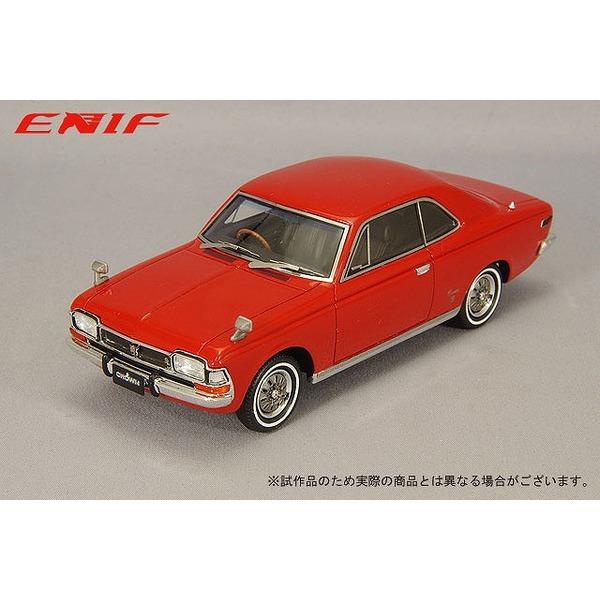 ENIF 1/43 トヨペット クラウン 2ドア ハードトップ SL 1968年型 ショウモンレッド