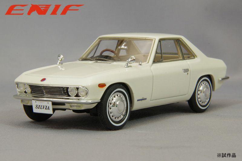 <予約 2021/12中旬月発売予定> ENIF 1/43 日産 シルビア 1965年型 ホワイト