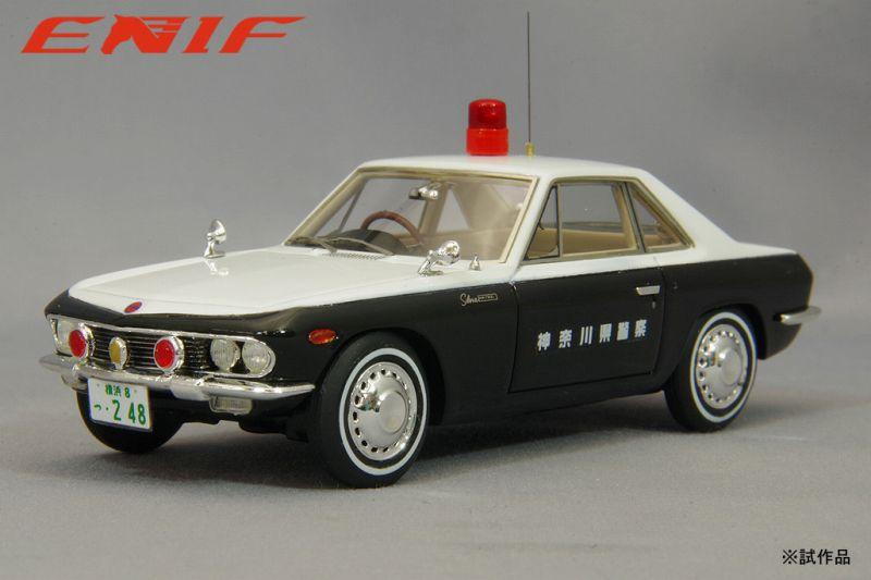 <予約 2021/12中旬月発売予定> ENIF 1/43 日産 シルビア パトロールカー 神奈川県警 交通機動隊 No.248