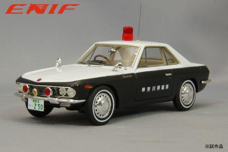 <予約 2021/12中旬月発売予定> ENIF 1/43 日産 シルビア パトロールカー 神奈川県警 交通機動隊 No.250