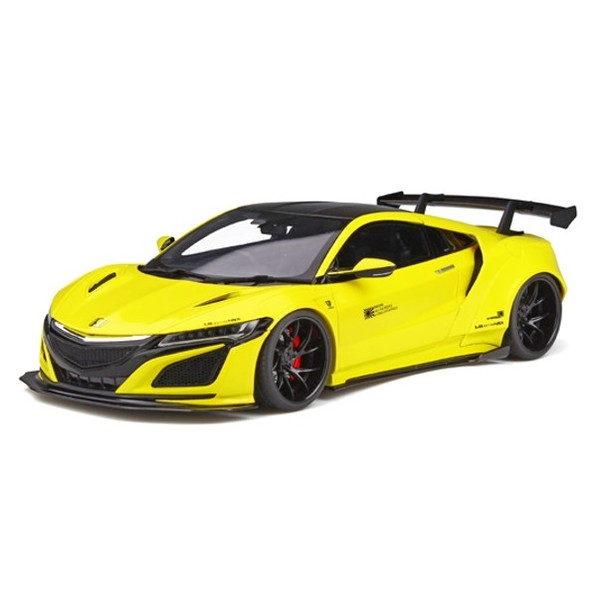 【GT SPIRIT】1/18 HONDA NSX Customized car by LB★WORKS  イエロー 国内限定数250個