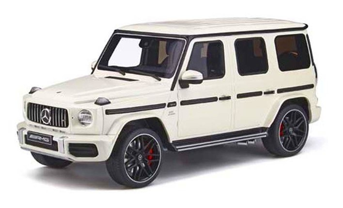 GT SPIRIT 1/18 Mercedes AMG G63 2019 (Pearl White) Asia Exclusive