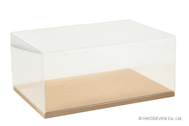 <予約 2021/10~11月発売予定> HIKOSEVEN 1/43 アクリルディスプレイケース & ベース (展示部分:A4サイズ)