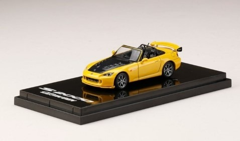 HobbyJapan 1/64 Mugen S2000 New Indy Yellow Pearl