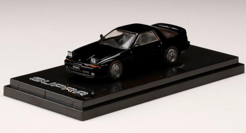 <予約 2021/5月発売予定> HobbyJapan 1/64 トヨタスープラ (A70) 2.5GT TWIN TURBO カスタムバージョン ブラック