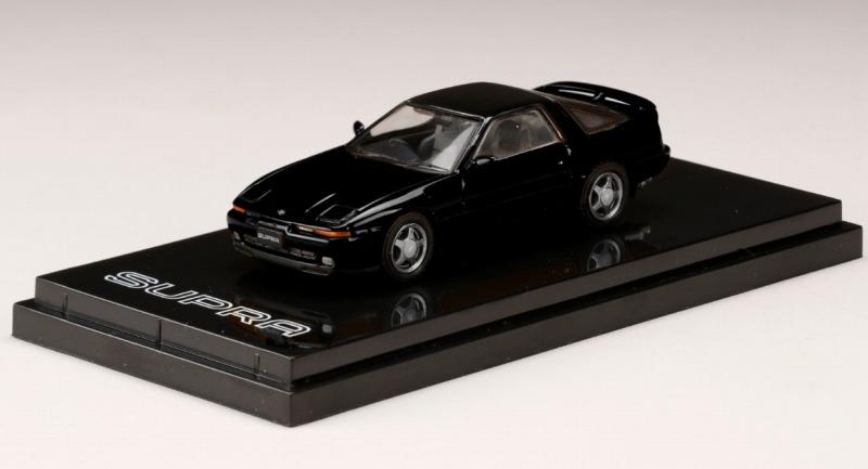 <予約 2021/5月発売予定> HobbyJapan 1/64 トヨタスープラ (A70) 2.5GT TWIN TURBO R ブラック