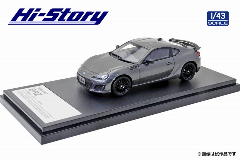 Hi-Story 1/43 SUBARU BRZ STI Sport (2019) マグネタイトグレー・メタリック