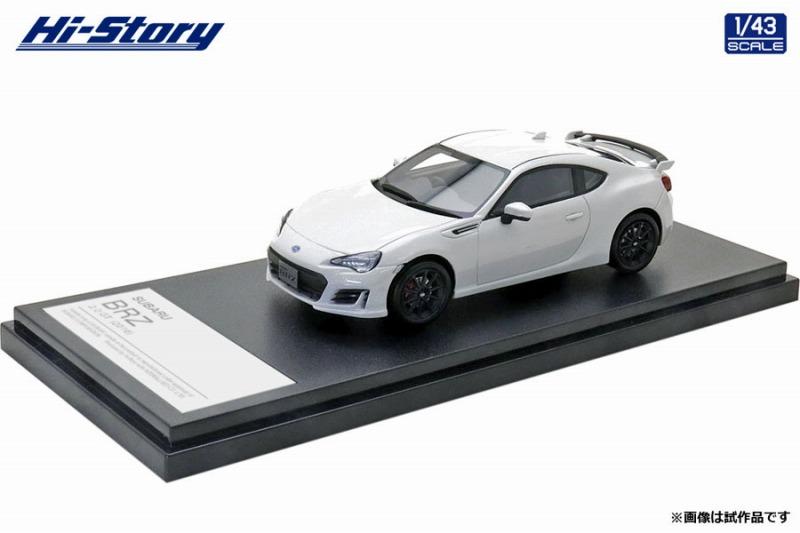 Hi-Story 1/43 SUBARU BRZ 2.0 GT (2016) クリスタルホワイト・パール