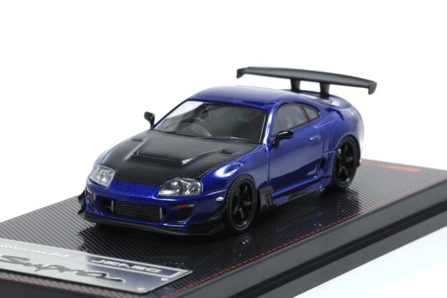 <セール> ignition 1/64 Toyota Supra (JZA80) RZ Blue Metallic