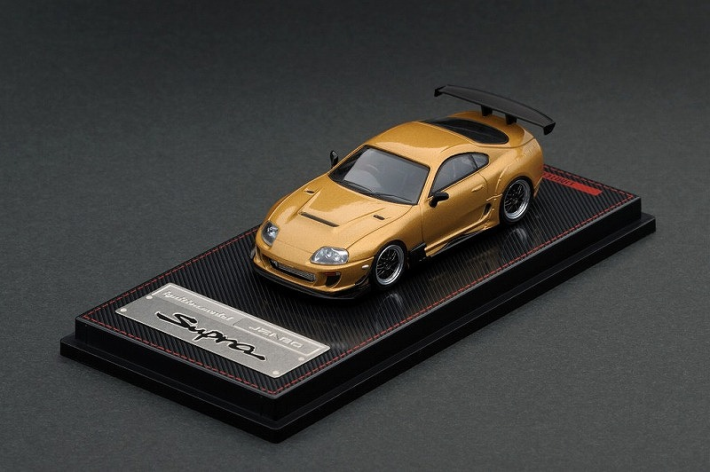 Ignition model 1/64 Toyota Supra (JZA80) RZ Gold