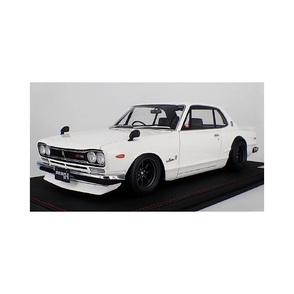 【Ignition model】 1/12 Nissan Skyline 2000 GT-R (KPGC10) White ※宮沢模型流通限定