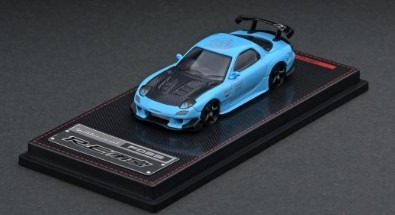 Ignition 1/64 Mazda RX-7 (FD3S) RE Amemiya Light Blue