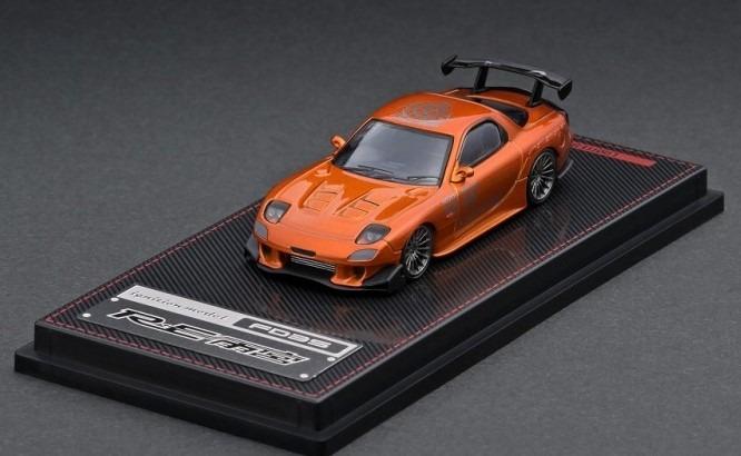 Ignition model 1/64 マツダ RX-7 FD3S RE 雨宮 オレンジメタリック