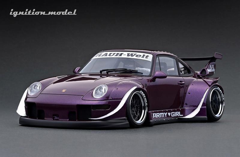 <予約> Ignition model 1/18 RWB 993 Purple Metallic