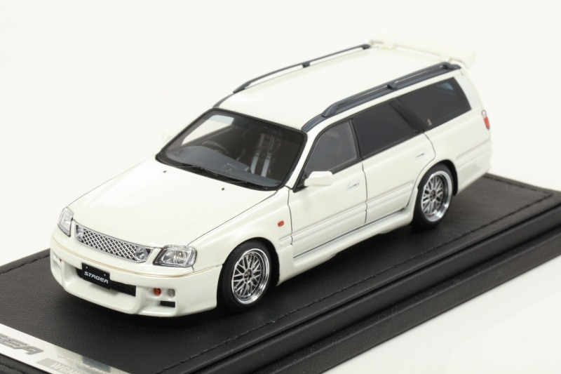 Ignition 1/43 Nissan STAGEA 260RS (WGNC34) Pearl White