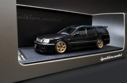 <予約> Ignition model 1/43 Nissan STAGEA 260RS (WGNC34) Black