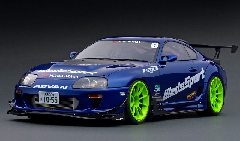 <予約> [Ignition model] 1/12 Toyota Supra (JZA80) RZ ORIDO-STREET Ver. Blue