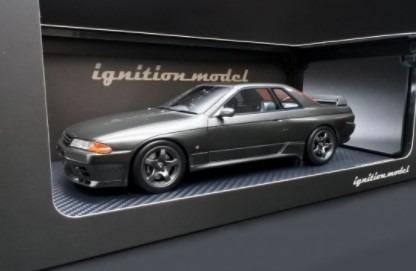 Ignition model 1/18 Nissan Skyline GT-R NISMO (BNR32) Gun Gray Metallic