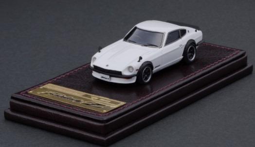 Ignition model 1/64 Nissan Fairlady Z (S30) White