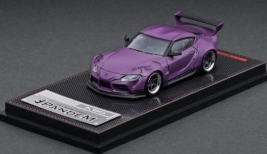 Ignition model 1/64 PANDEM Supra (A90) Matte Purple