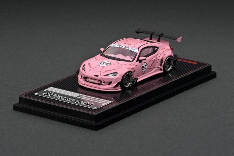 <予約 2021/6月発売予定> ignition model 1/64 PANDEM TOYOTA 86 V3 Pink