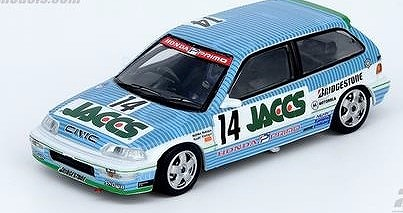 "【INNO】 1/64 ホンダ シビック EF9 GR.A #14 ""JACCS"" JTC 1991"
