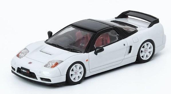 INNO 1/64 Honda NSX-R NA2 チャンピオンシップホワイト With Extra Wheels
