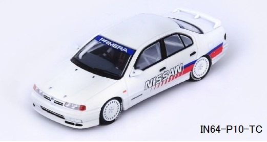 INNO 1/64 Nissan PRIMERA (P10) JTCC Test Car 1993