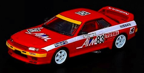 INNO 1/64 日産 スカイライン GT-R R32 #83 AIM Motorsport JTC Fuji