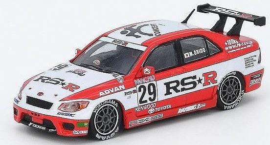 INNO 1/64 ヨタ アルテッツァ RS200 #29 Team RSR マカオ ギアレース2000