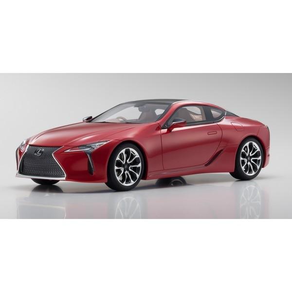 【Kyosho】 1/18 Lexus LC 500 Red  ※サムライ シリーズ  限定400台