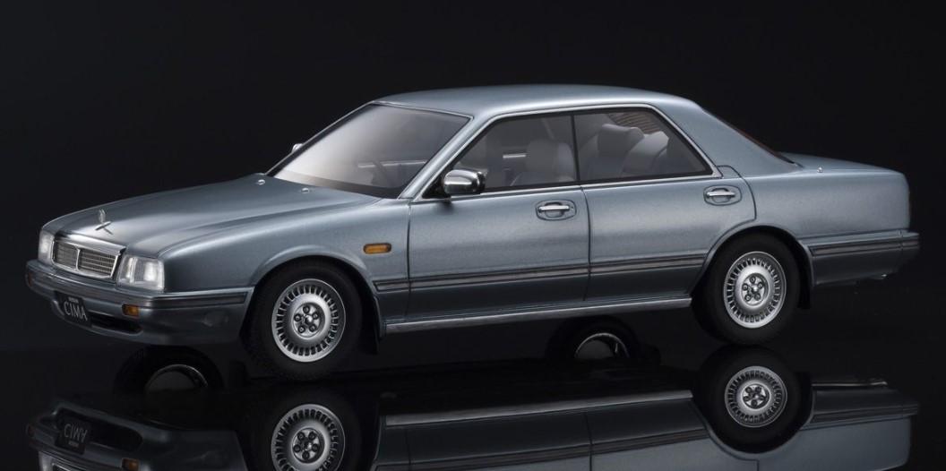 Kyosho 1/18 Nissan Cedric Cima Light blue 限定500台 ※サムライ シリーズ