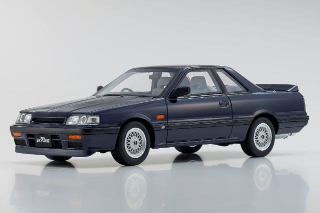 【Kyosho】 1/18 日産 スカイライン GTS-R (ブルー) 限定 700個 ※サムライ シリーズ