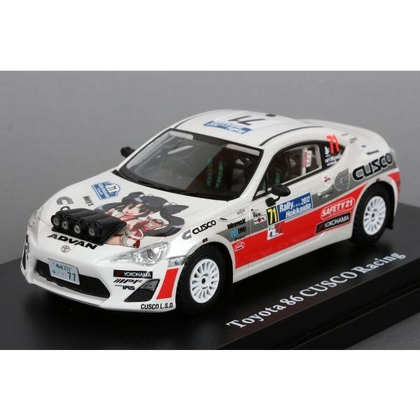 【LA-X】 1/43 トヨタ 86 CUSCO Racing 2012 ラリー北海道 JN-3 クラス優勝 No,71