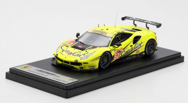 LOOKSMART 1/43 Ferrari 488 GTE No.57 24H Le Mans 2019  Car Guy Racing K. Cozzolino - C. Ledogar - T. Kimura