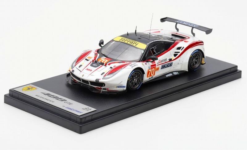 Spark 1/43 Ferrari 488 GTE No.70 MR Racing 24H Le Mans 2019 O. Beretta ? E. Cheever lll ? M. Ishikawa