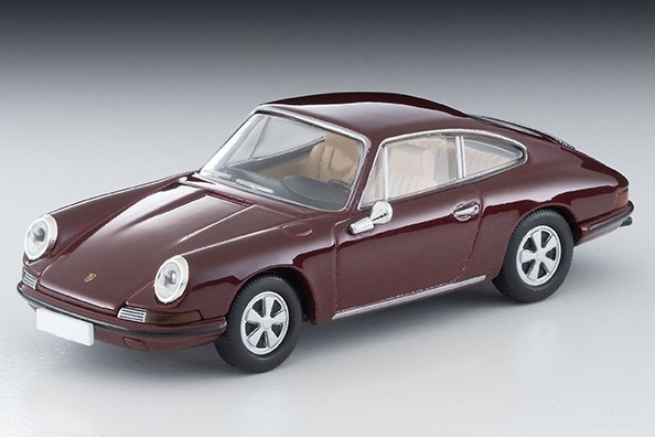 TOMICA LIMITED VINTAGE 1/64 ポルシェ911S(マルーン)