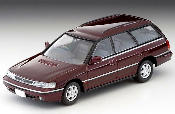 TOMICA LIMITED VINTAGE NEO 1/64 スバル レガシィ ツーリングワゴン GT(暗赤)