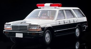 TOMICA LIMITED VINTAGE NEO 1/64 日産グロリア バン V20Eデラックス パトロールカー(兵庫県警)