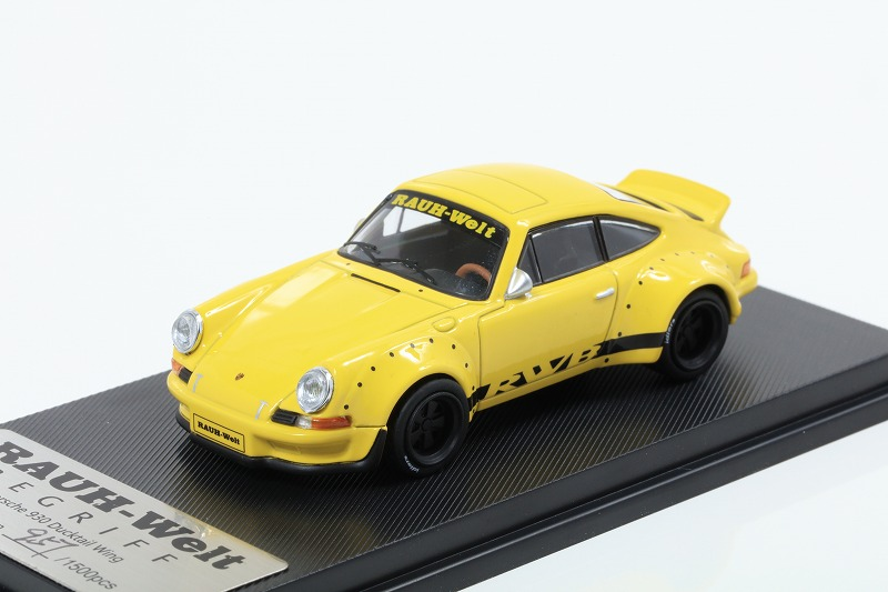 MODEL COLLECT 1/64 RWB 930 Ducktail Wing Yellow