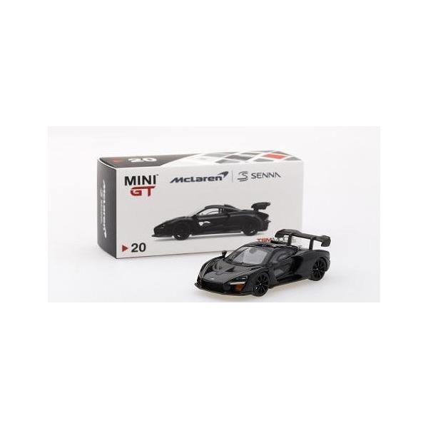 【MINI GT】 1/64 マクラーレン セナ オニキスブラック 右ハンドル