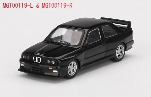 MINI GT 1/64 BMW M3 ACシュニッツァーS3スポーツ ブラック(左ハンドル)
