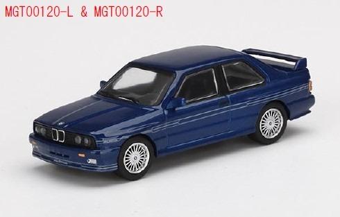 MINI GT 1/64 BMW M3(E30) アルピナ B6 3.5S アルピナブルー(左ハンドル)