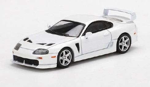 MINI GT 1/64 トヨタ TRD 3000GT スーパーホワイト 右ハンドル