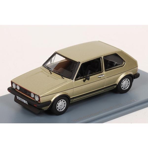 【NEO】 1/43 VW ゴルフ GTI 1983 (ゴールド)