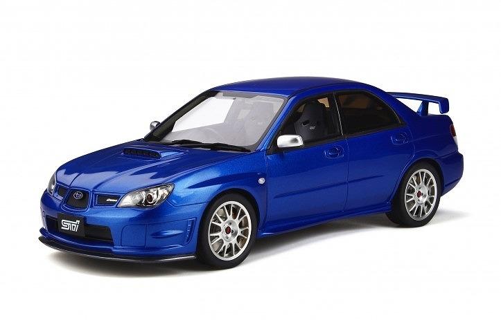OTTO 1/18 STI S204 (ブルー) 世界限定 1,500個