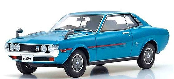 OTTO 1/18 トヨタ セリカ 1600GT (ブルー)世界限定 300個 OttO Mobile Kyosho Exclusive